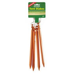 Ultralight Tent Stakes 4-Pack
