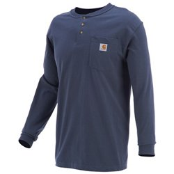 Carhartt Men's Long Sleeve Workwear Henley