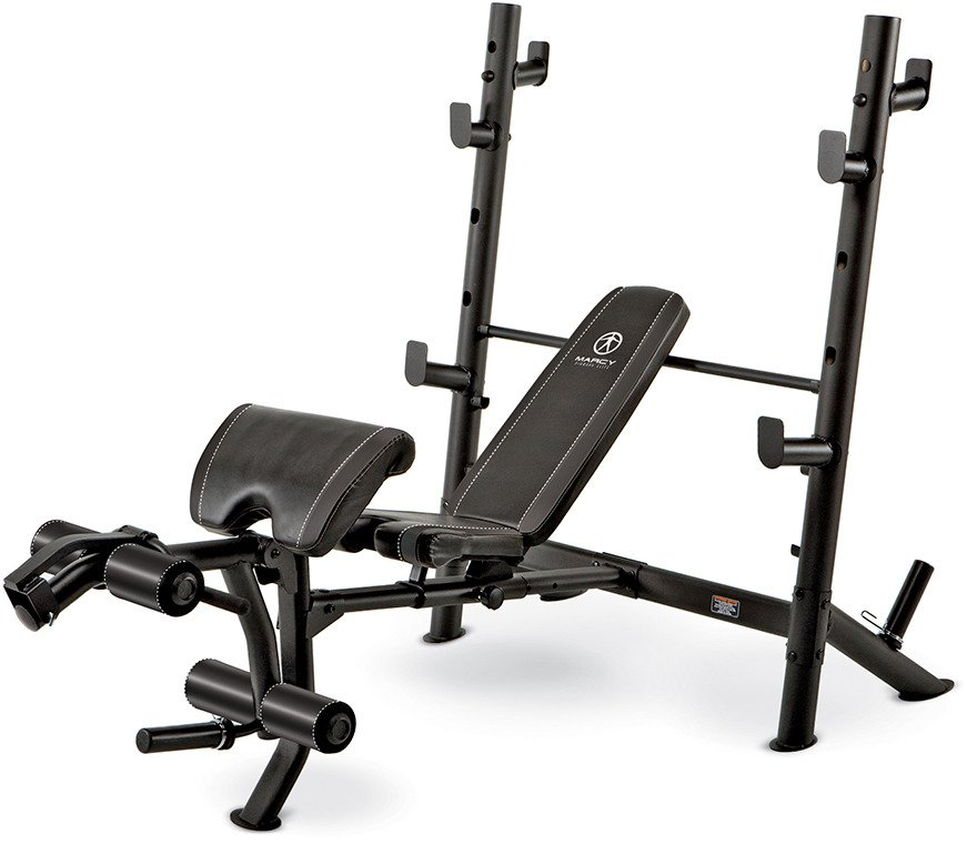 Marcy Diamond Elite Mid-Size Olympic Bench - view number 1