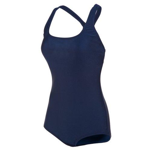 Speedo Women's Solid Ultraback Conservative Swimsuit