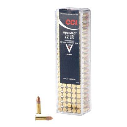 cci mini mag 22 lr 40 grain high velocity rifle ammunition academy