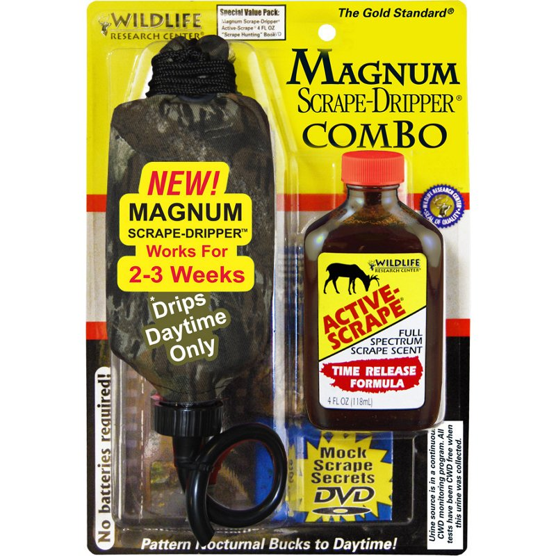 Wildlife Research Center Magnum Scrape-Dripper Combo – Game Scents And Attracts at Academy Sports