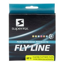 Superfly 90-Yard Weight-Forward 6 Floating Fly Line
