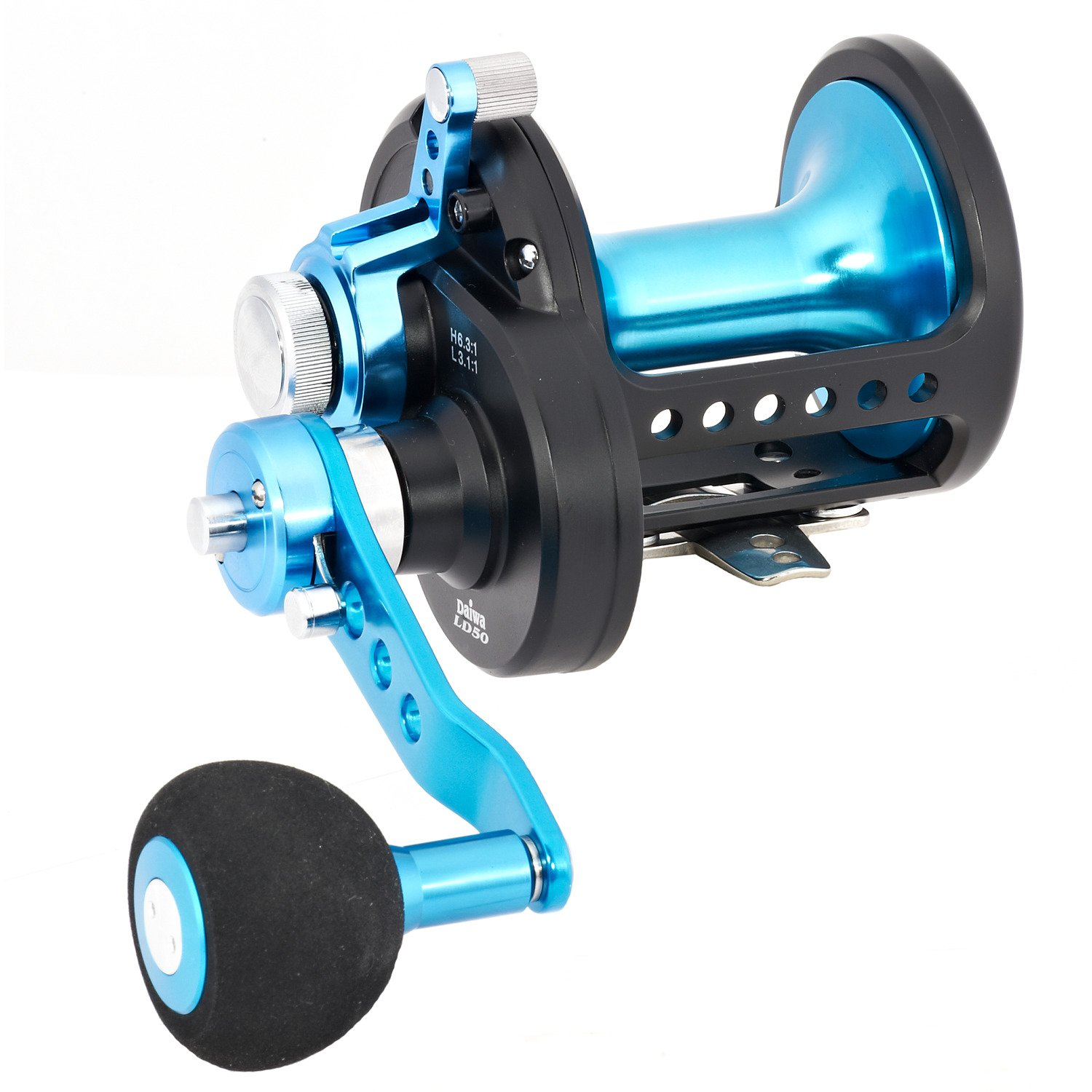 Daiwa® Saltist® Lever Drag 2-Speed STTLD 50 Conventional Reel, Right-handed - view number 1