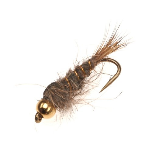 Superfly Natural Hares Ear 0.5 in Flies 2-Pack