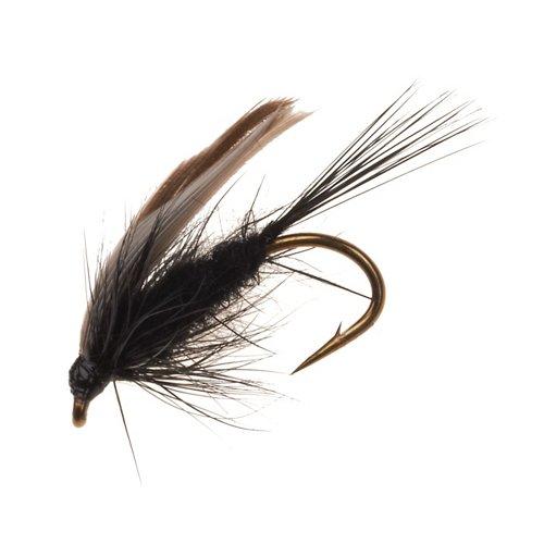 Superfly Black Gnat 1/2 in Flies 2-Pack