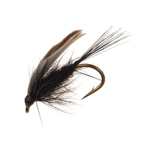 Superfly Black Gnat 1/2 in Wet Fly