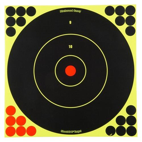 Birchwood Casey® Shoot-N-C® 12' Bull's-Eye Targets 5-Pack