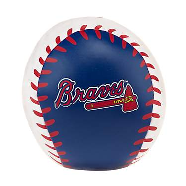 "K2 Licensed Products MLB Atlanta Braves Quick Toss 4"" Softee Baseball"