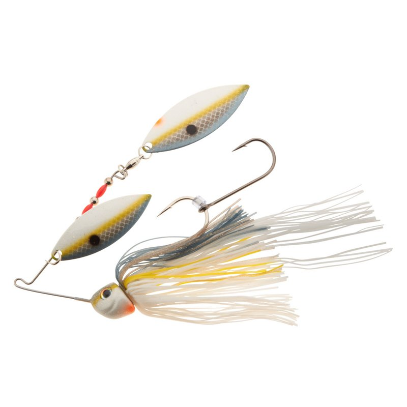 Strike King Tour Grade 1/2 oz. Double Willow Spinnerbait Sexy Shad – Fresh Water Wire Baits at Academy Sports