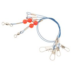 "23"" Double Drop Coated Wire Leader Rigs 2-Pack"