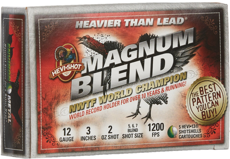 HEVI-Shot® Magnum Blend 12 Gauge Shotshells