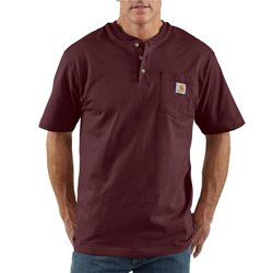 Men's Workwear Short Sleeve Henley