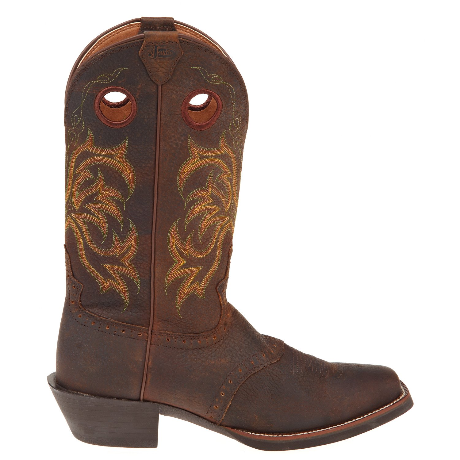 Display product reviews for Justin Men's Stampede Punchy Western Boots This product is currently selected