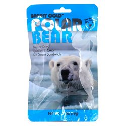 Backpacker's Pantry Bearly Cold™ Polar Bear Freeze-Dried Cookies & Cream Ice Cream Sandwich