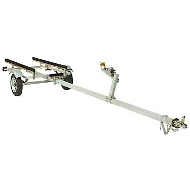 Mcclain 14 17 Single Axle Aluminum Jon Boat Trailer
