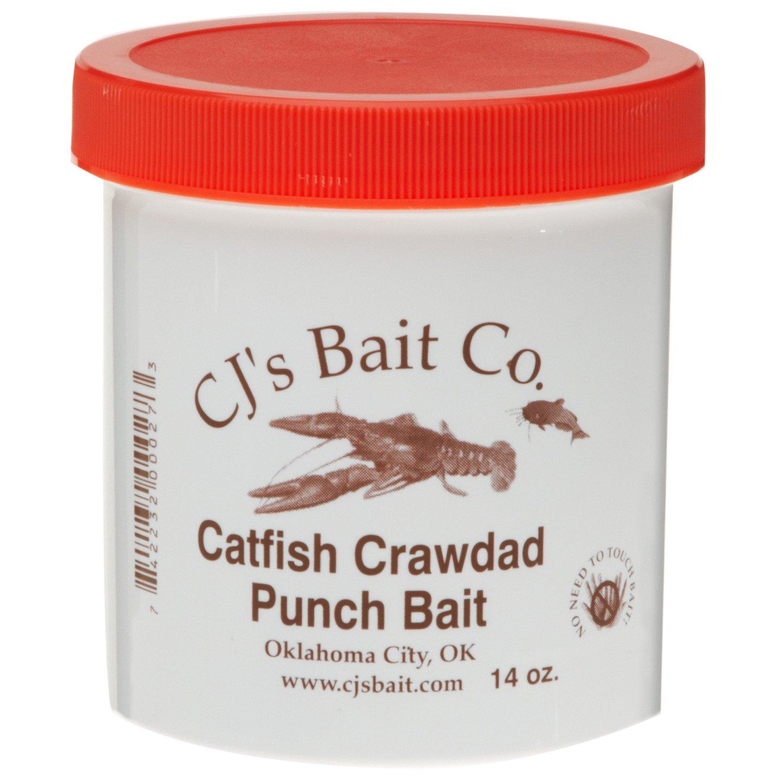 CJ's Bait Company 14 oz. Catfish Crawdad Punch Bait