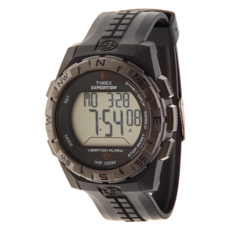 Timex Men's Vibration Alarm Full-Size Watch