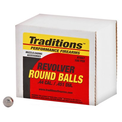 traditions round ball 44 caliber ammunition academy