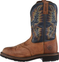 Justin Men's Original Stampede Copper Kettle Rowdy Work Boots