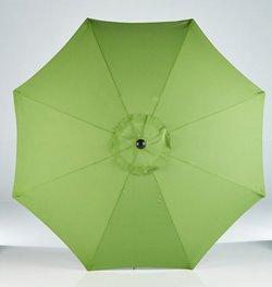 Mosaic 9' Round Steel Market Umbrella