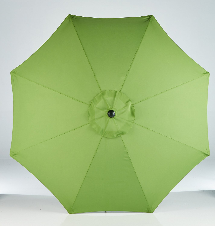 Mosaic 9u0027 Round Steel Market Umbrella