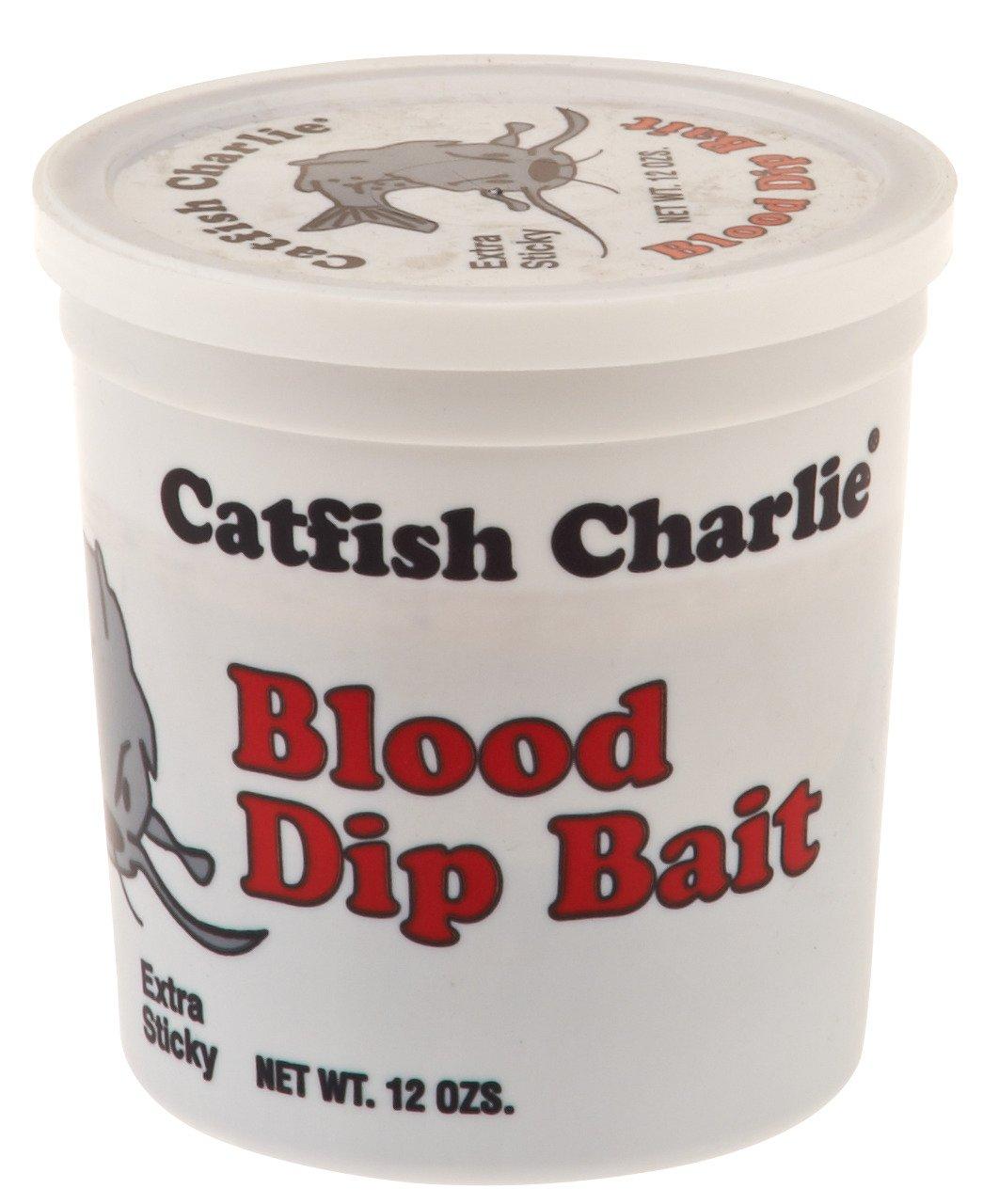 Catfish Charlie 12 oz. Blood-Flavored Dip Bait