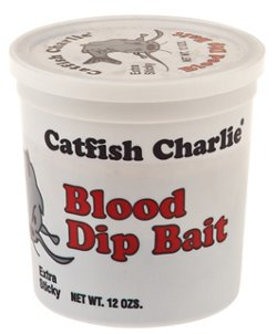 Catfish Charlie 12 oz. Blood-Flavored Dip Bait