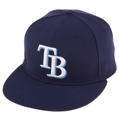 ... New Era Men s Tampa Bay Rays MLB Authentic Collection 59FIFTY Game Cap.  Rays Headwear. Hover Click to enlarge e06ec2226cc