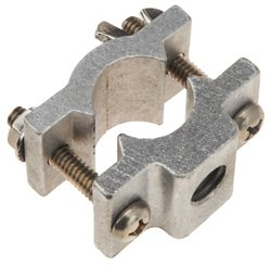 "Driftmaster Pro Series 1/2"" Thread Round Rail Clamp Base"