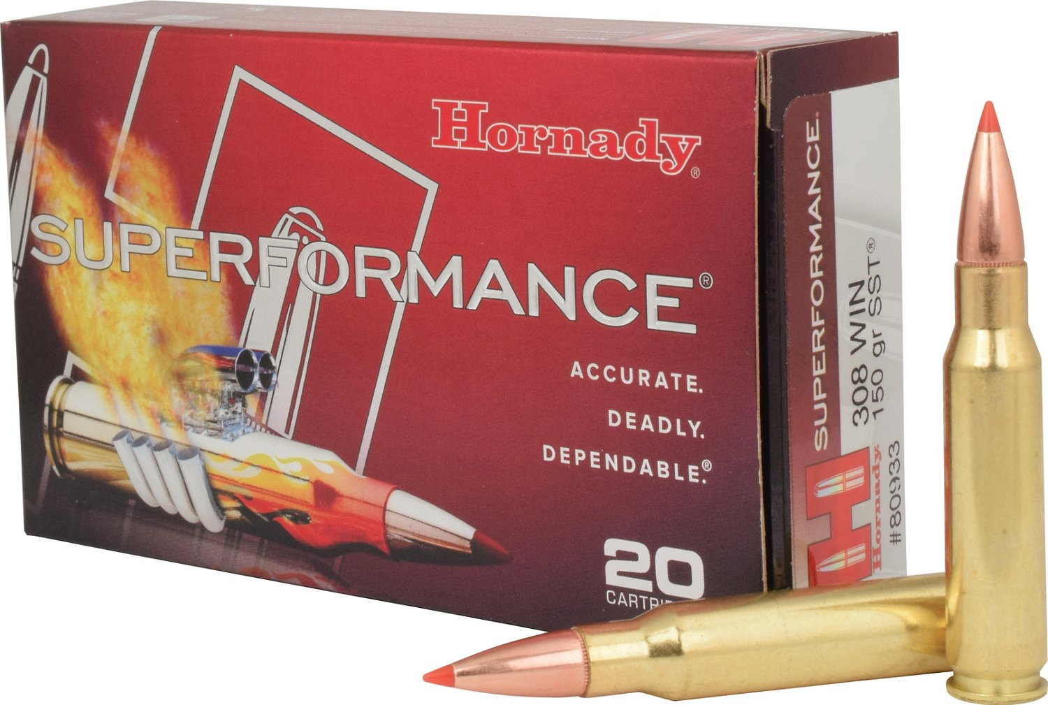 Hornady Superformance® SST® .308 Win 150-Grain Rifle Ammunition