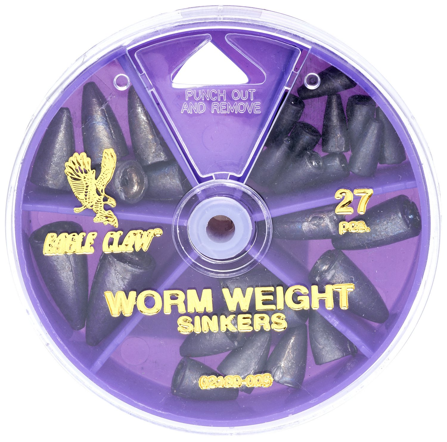 Eagle Claw Assorted Weights 27-Pack - view number 1