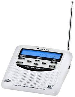Midland WR120 All Hazards Weather Alert Radio