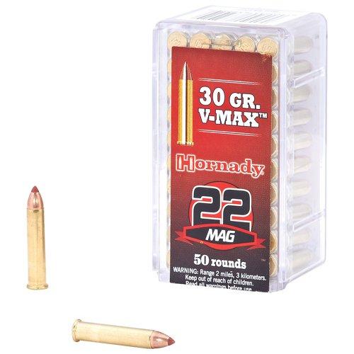 Hornady V-MAX™ .22 WMR 30-Grain Rimfire Rifle Ammunition