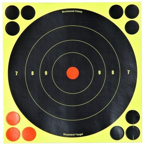 Birchwood Casey® Shoot-N-C® Self-Adhesive 8' Bull's-Eye Targets 30-Pack