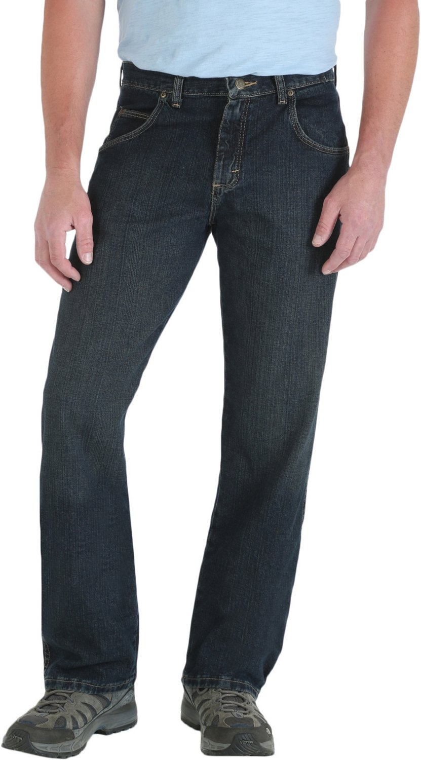 Display product reviews for Wrangler Rugged Wear Men s Relaxed Straight Fit  Jean 996c2ec686075