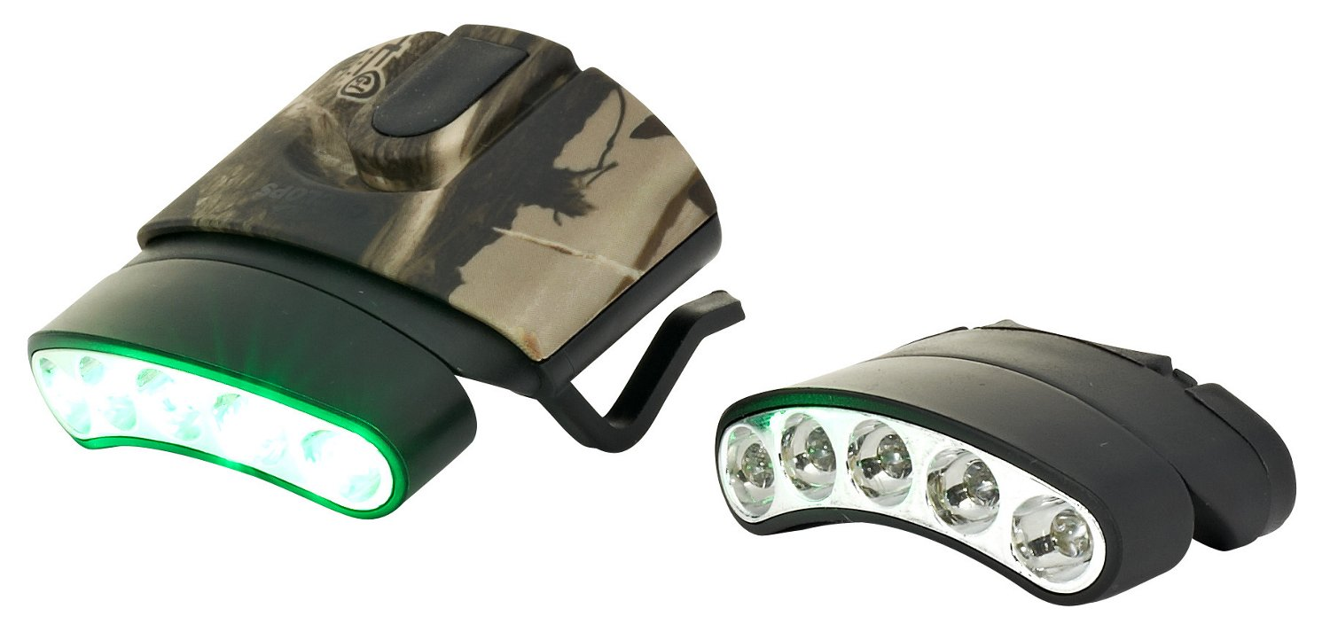 Display product reviews for Cyclops Tilt LED Hat Clip Light