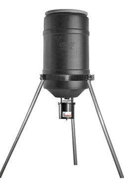 American Hunter 225 lb Capacity Tripod Feeder with RDE Digital Timer