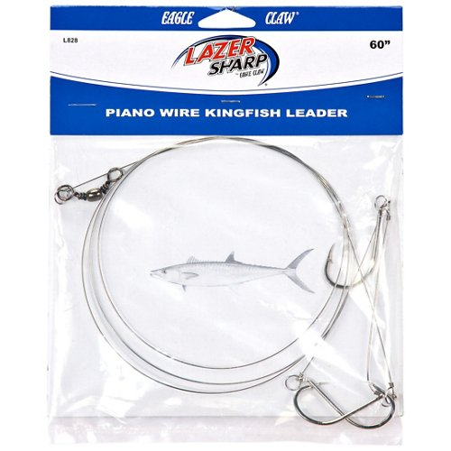Eagle Claw 60' - 3 Hook Piano Wire Kingfish Leader Rig