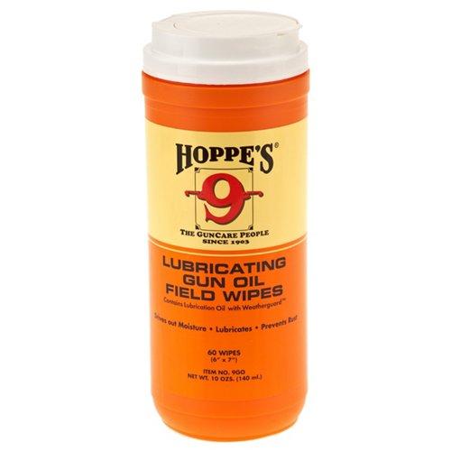 Hoppe's Lubricating Gun Oil Field Wipes