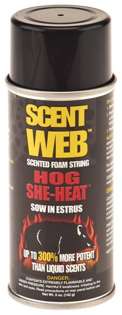Scent Web Hog She-Heat™ 4 oz. Sow In Estrus Scented Foam String