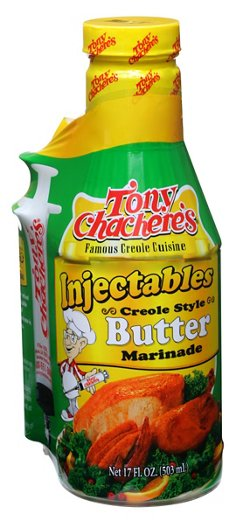 Tony Chachere's 17 oz. Injectable Creole Butter Marinade