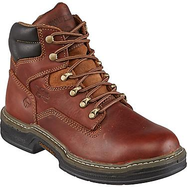 a89151b5362 Wolverine Raider Men's MultiShox Contour Welt 6 in EH Lace Up Work Boots