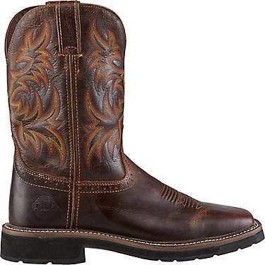 15351778426 Justin Men's Stampede EH Wellington Work Boots