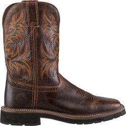 Men's Stampede Square Toe Work Boots