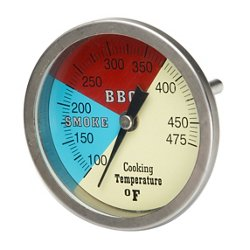 "Smoker and Grill 3"" Temperature Gauge"