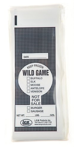 LEM 1 lb. Wild Game Bags 100-Count