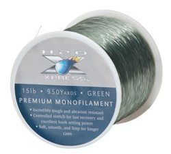 H2O XPRESS 15 lb - 950 yd Monofilament Fishing Line