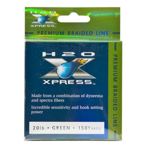 H2O XPRESS Premium Braid 150-Yard Fishing Line