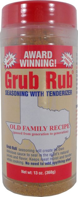 Grub Rub® Seasoning with Tenderizer